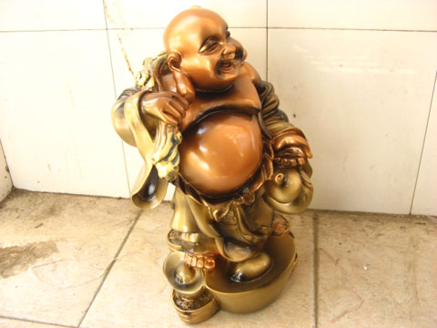 Chinese Feng Shui Laughing Buddha  :  happy decoration ornament statue